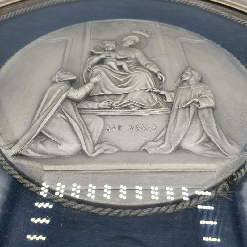 QUADRETTO TONDO AVE MARIA RILIEVO | Mercatino dell'Usato Lamezia terme 2