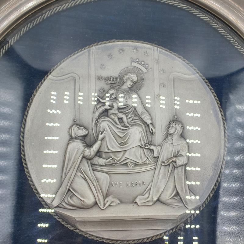 QUADRETTO TONDO AVE MARIA RILIEVO | Mercatino dell'Usato Lamezia terme 3