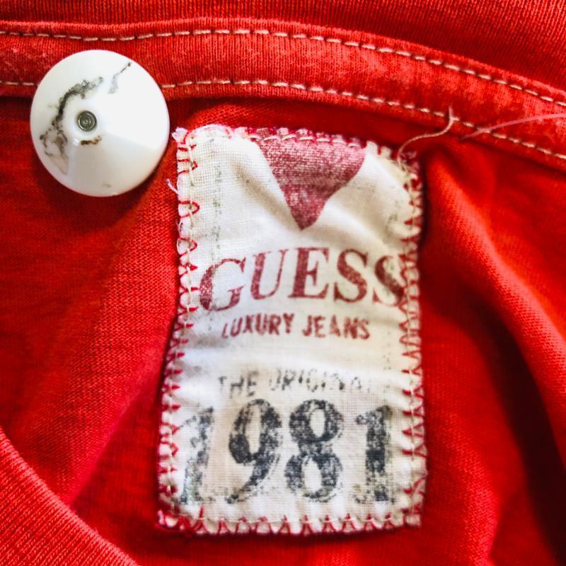 T SHIRT DONNA GUESS ROSSA | Mercatino dell'Usato Frosinone 3