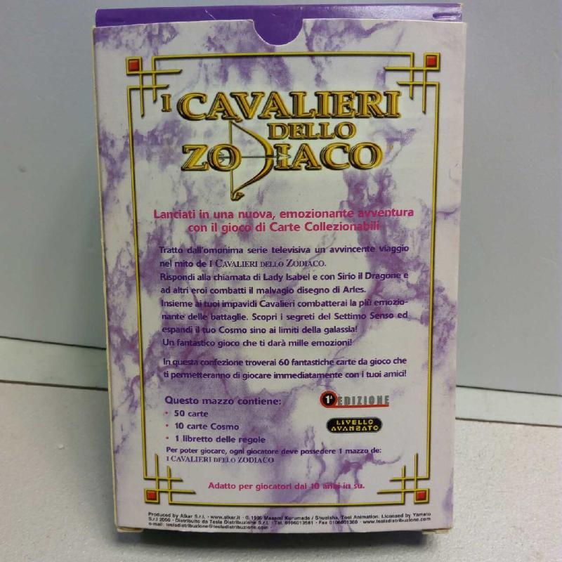 CARTE CAVALIERI DELLO ZODIACO   Mercatino dell'Usato Latina 2