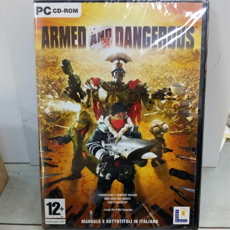 ARMED AND DANGEROUS | Mercatino dell'Usato Latina 1