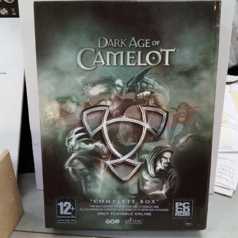DARK AGE OF CAMELOT COMPLETE BOX   Mercatino dell'Usato Latina 1
