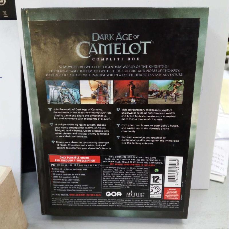 DARK AGE OF CAMELOT COMPLETE BOX   Mercatino dell'Usato Latina 2