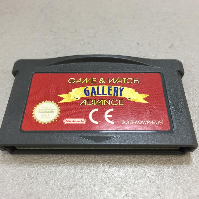 GAME & WATCH GALLERY ADVANCE   Mercatino dell'Usato Latina 1