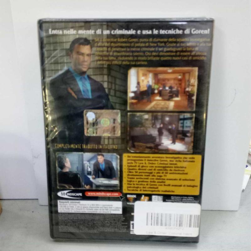 LAW & ORDER: CRIMINAL INTENT | Mercatino dell'Usato Latina 2