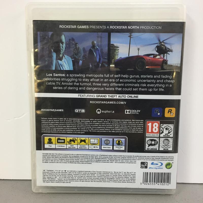 PS3 GRAND THEFT AUTO V   Mercatino dell'Usato Latina 2