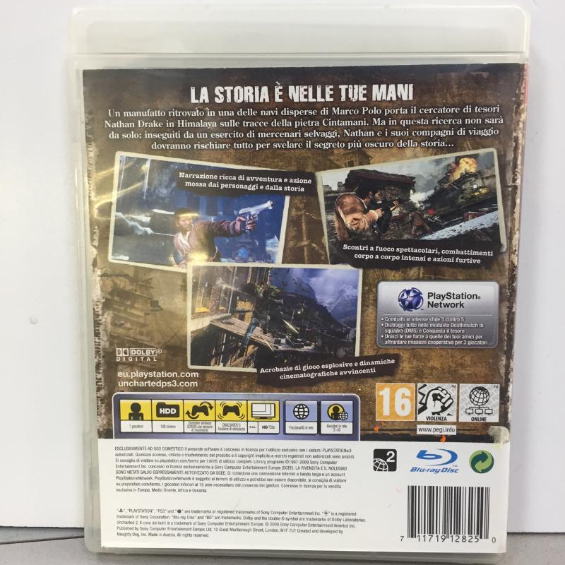 PS3 UNCHARTED 2   Mercatino dell'Usato Latina 2