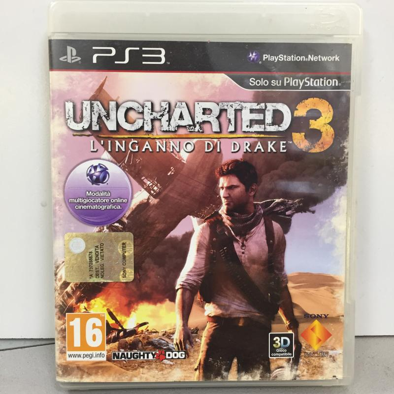 PS3 UNCHARTED 3 | Mercatino dell'Usato Latina 1