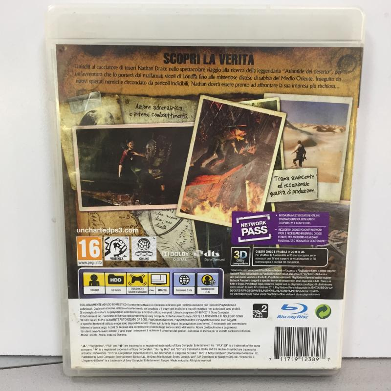 PS3 UNCHARTED 3 | Mercatino dell'Usato Latina 2