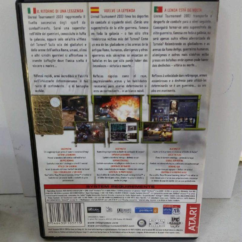 UNREAL TURNAMENT 2003 | Mercatino dell'Usato Latina 2