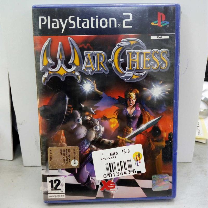 WAR CHESS PS2 | Mercatino dell'Usato Latina 1