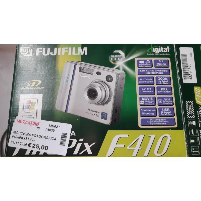 MACCHINA FOTOGRAFICA FUJIFILM F410 | Mercatino dell'Usato Busnago 2