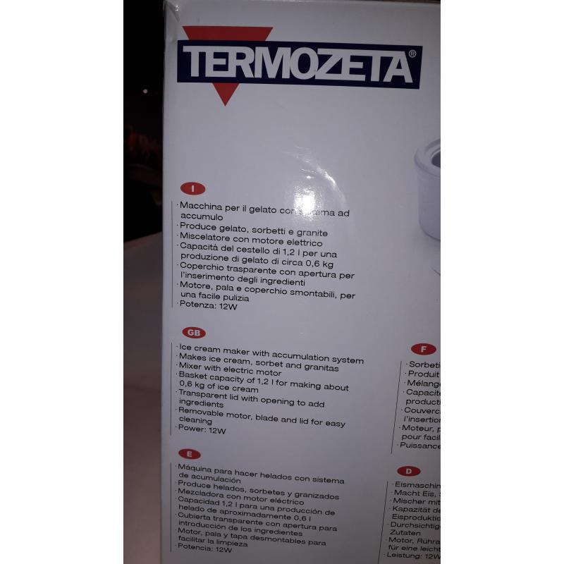 GELATIERA ELETTRICA TERMOZZETA   Mercatino dell'Usato Busnago 2
