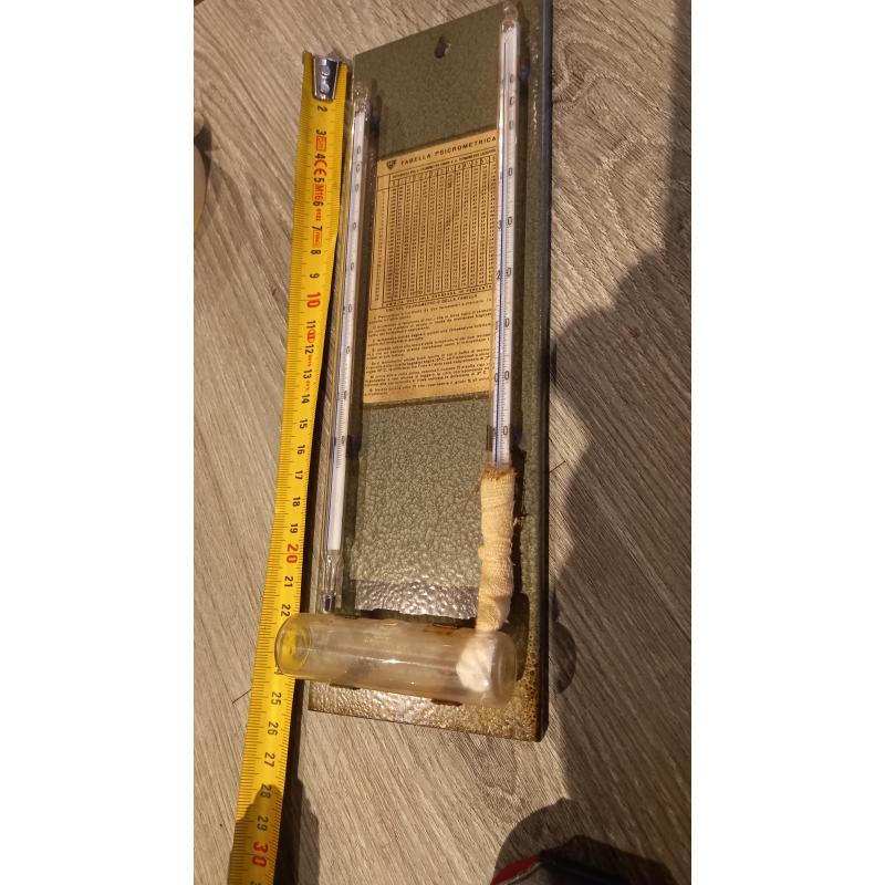 IGROMETRO PSICOMETRO ANNI 50/60   Mercatino dell'Usato Busnago 4