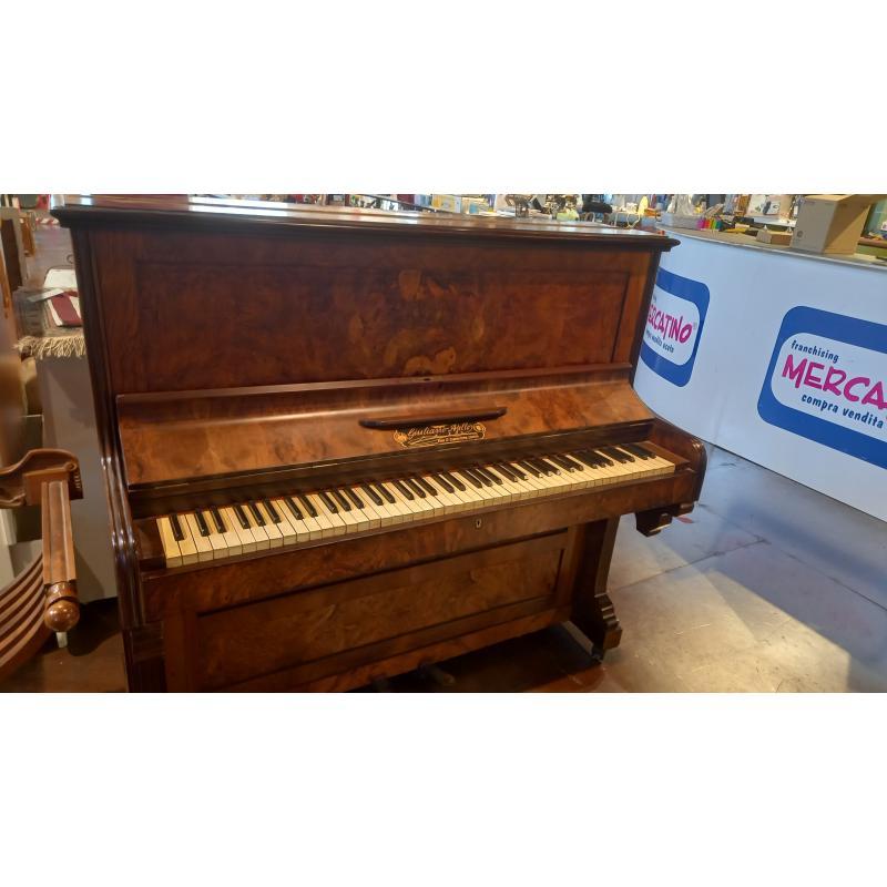 PIANOFORTE VERTICALE GIULIANO AJELLO 1880 | Mercatino dell'Usato Busnago 2