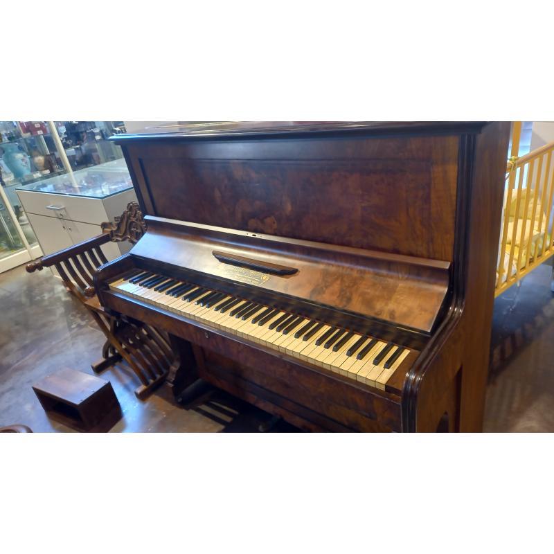 PIANOFORTE VERTICALE GIULIANO AJELLO 1880 | Mercatino dell'Usato Busnago 3