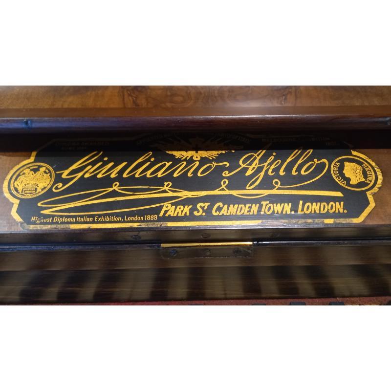 PIANOFORTE VERTICALE GIULIANO AJELLO 1880 | Mercatino dell'Usato Busnago 4