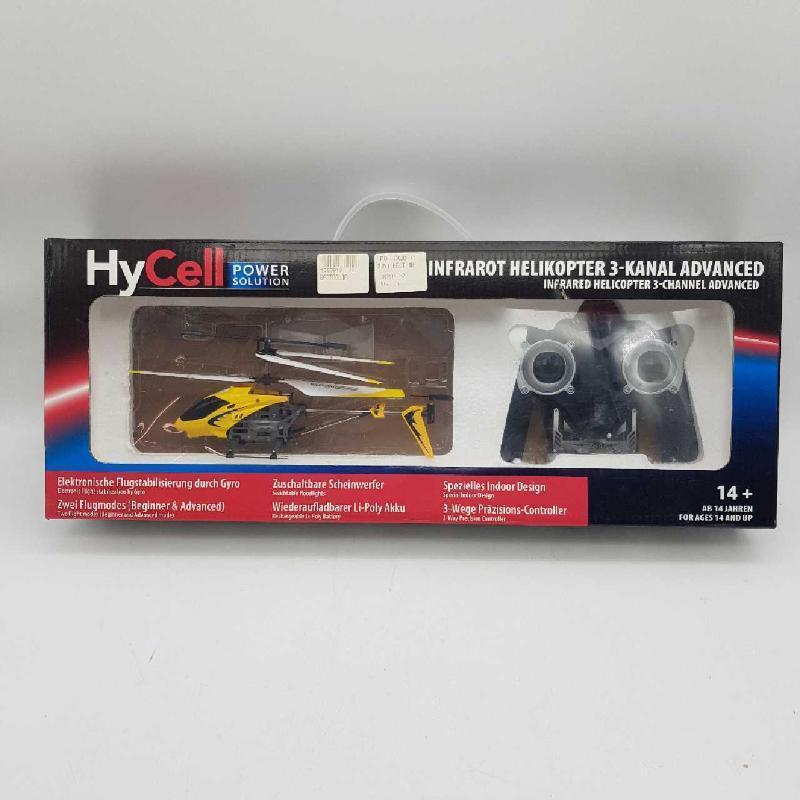 MODELLINO ELICOTTERO HYCELL POWER SOLUTION 3 CANALI COMANDO A DISTANZA | Mercatino dell'Usato Messina 1