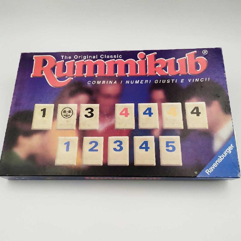 GIOCO RUMMIKUB RAVENSBURGER PRIMA EDIZIONE | Mercatino dell'Usato Corbetta 1