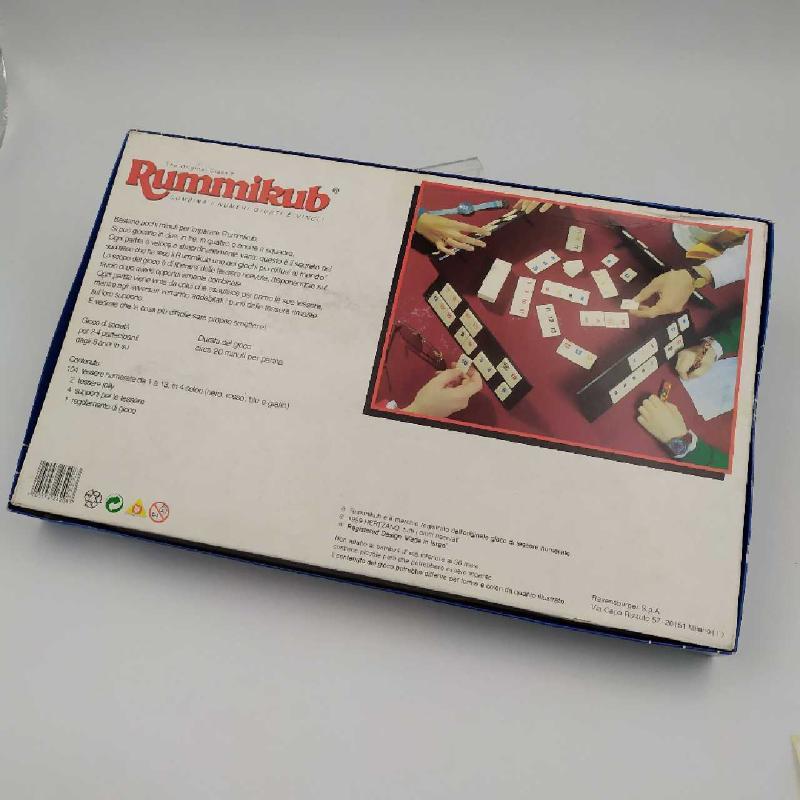 GIOCO RUMMIKUB RAVENSBURGER PRIMA EDIZIONE | Mercatino dell'Usato Corbetta 4