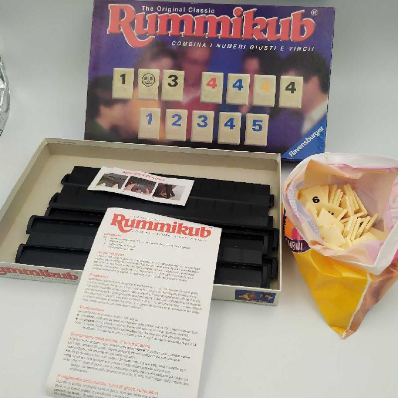 GIOCO RUMMIKUB RAVENSBURGER PRIMA EDIZIONE | Mercatino dell'Usato Corbetta 5