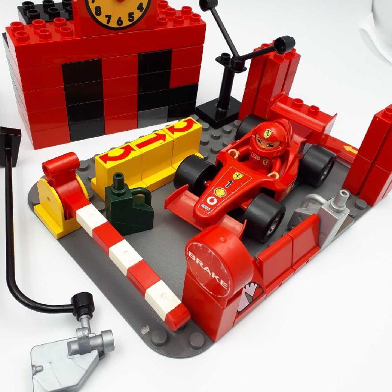 LEGO DUPLO SET FERRARI | Mercatino dell'Usato Corbetta 2