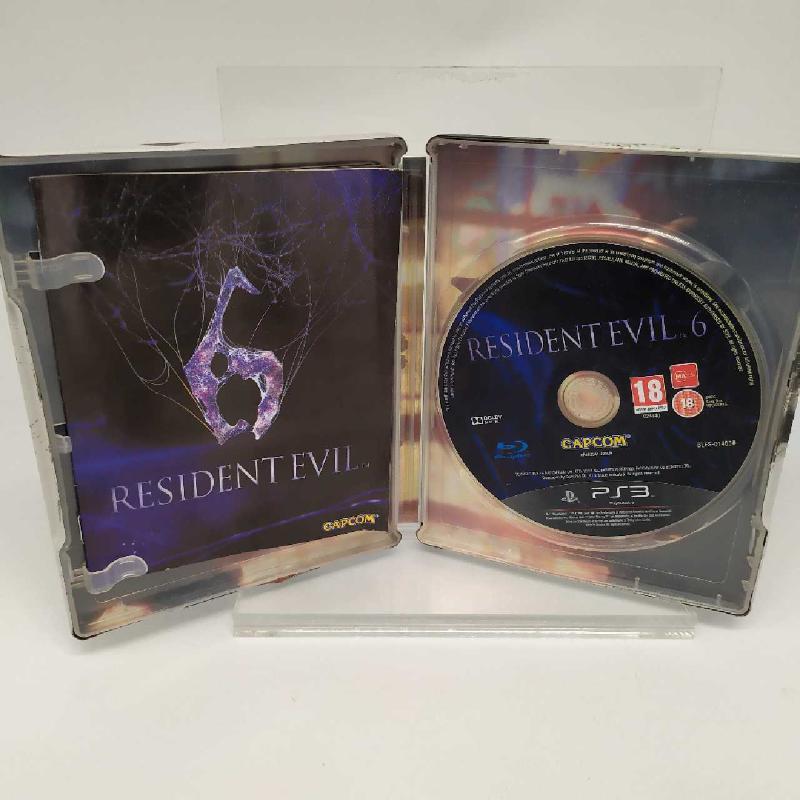 VIDEOGIOCO PS3 RESIDENT EVIL 6 STEELBOX PLAYSTATION 3   Mercatino dell'Usato Corbetta 3