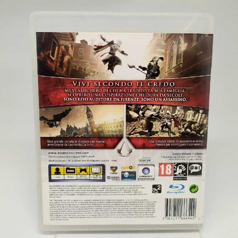 VIDEOGIOCO PS3 ASSASSIN'S CREED II 2 PLAYSTATION 3 | Mercatino dell'Usato Corbetta 2