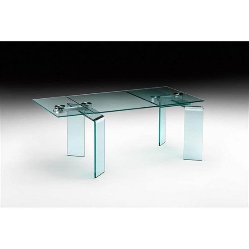Tavolo Cristallo Allungabile Usato.Tavolo Cristallo Fiam Ray Plus Mercatino Dell Usato Bernareggio