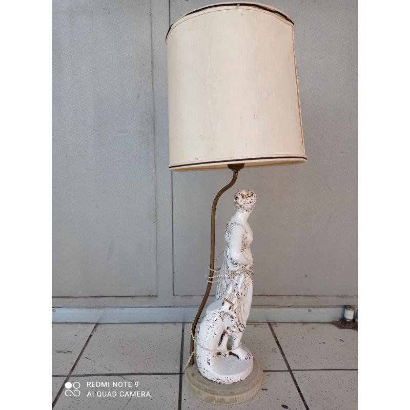 LAMPADA BASE FIGURA MITOLOGICA  | Mercatino dell'Usato Milano centrale 2