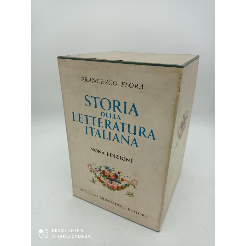 STORIA DELLA LETTERATURA ITALIANA    Mercatino dell'Usato Milano centrale 2