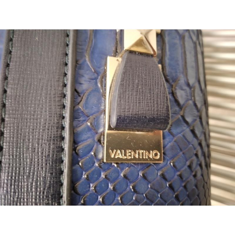 TRACOLLA D VALENTINO BLUETTE PITONE STAMPATO | Mercatino dell'Usato Milano jenner 4