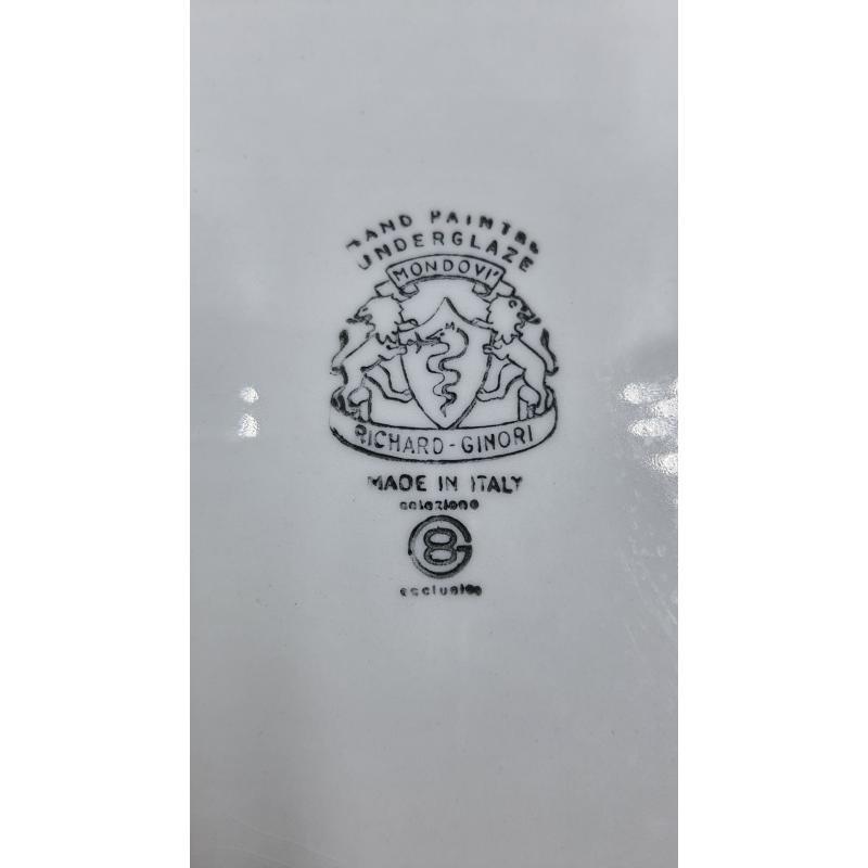 PIATTO DA PORTATA DEC FIORI RICHARD GINORI   Mercatino dell'Usato Carrara 2