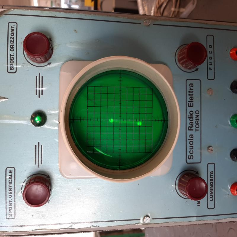 OSCILLOSCOPIO SCUOLA RADIO ELETTRA TORINO | Mercatino dell'Usato Napoli 5