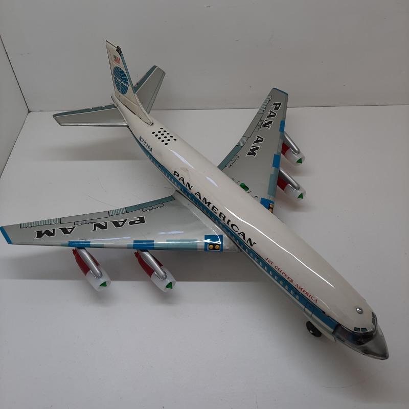 GIOCO DI LATTA AEREO BOING 707 PAN AMERICAN | Mercatino dell'Usato Napoli 1