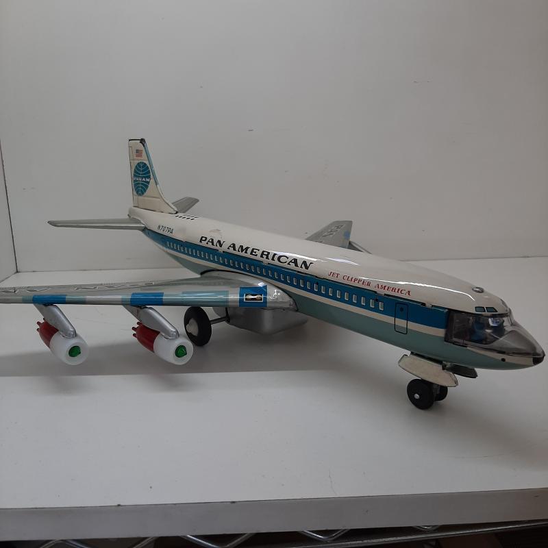 GIOCO DI LATTA AEREO BOING 707 PAN AMERICAN | Mercatino dell'Usato Napoli 2