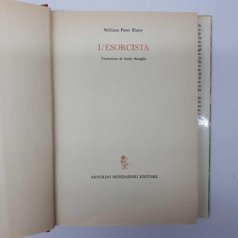LIBRO L'ESORCISTA | Mercatino dell'Usato Napoli 3