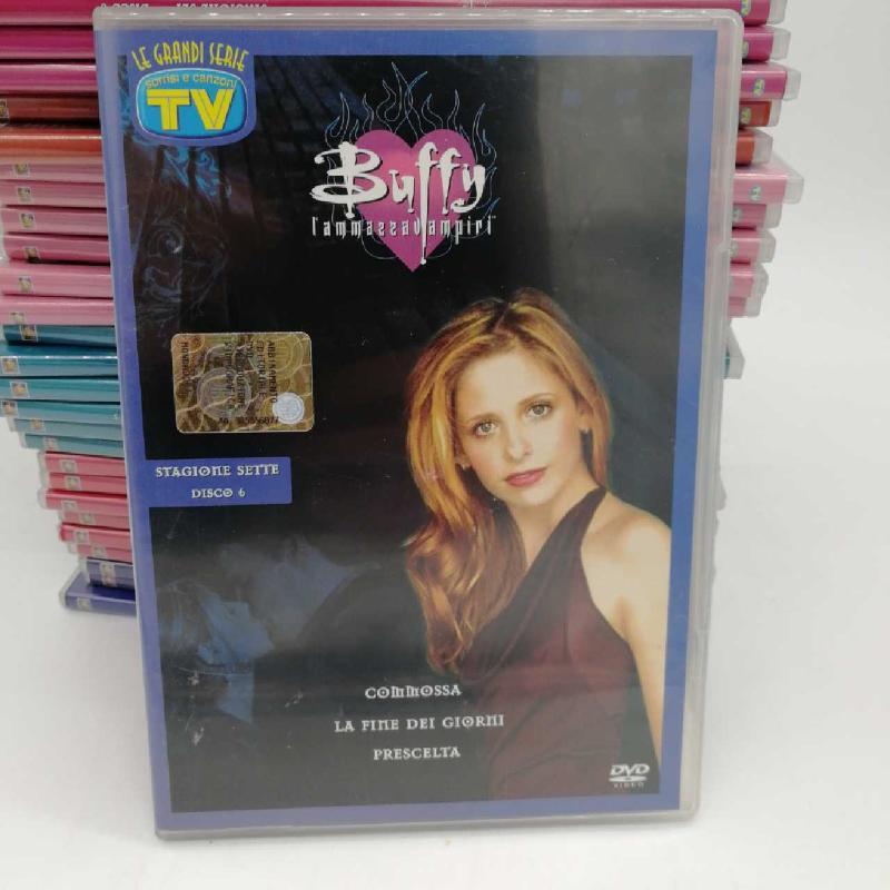 DVD COFANETTO BUFFY L'AMMAZZAVAMPIRI   Mercatino dell'Usato Napoli 1