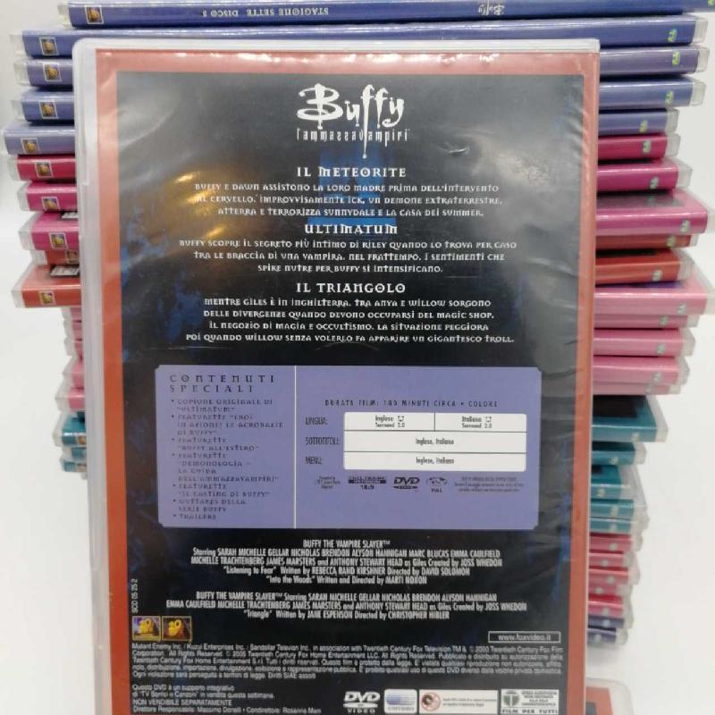 DVD COFANETTO BUFFY L'AMMAZZAVAMPIRI   Mercatino dell'Usato Napoli 3