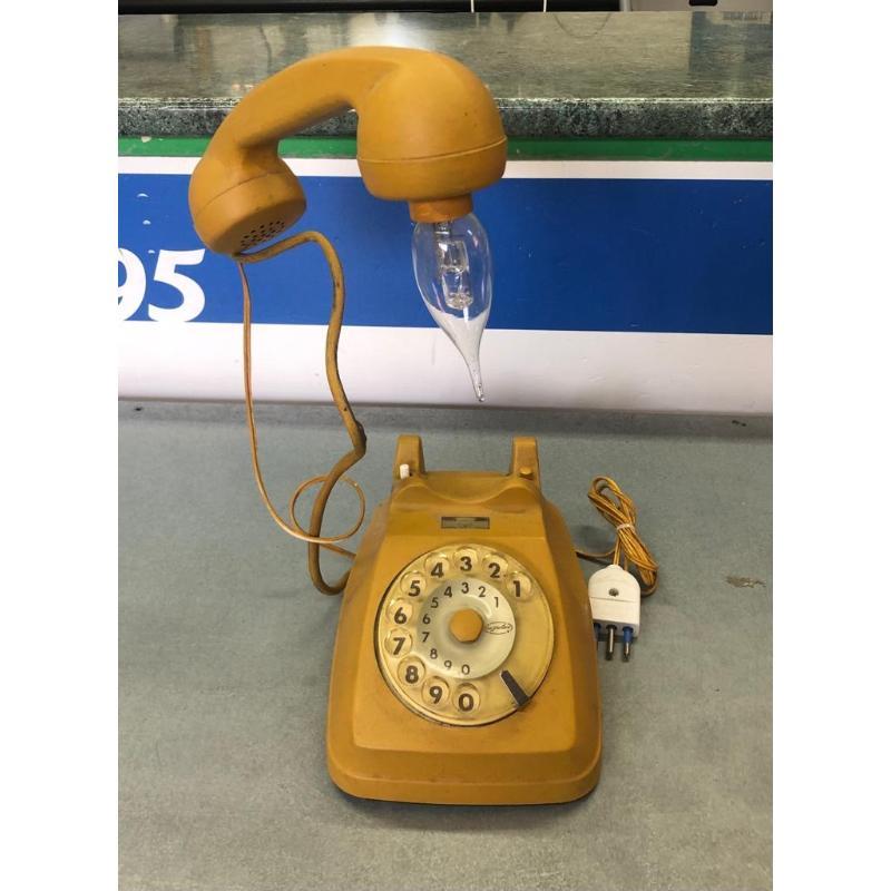 TELEFONO LAMPADA SENAPE | Mercatino dell'Usato Brusciano 1