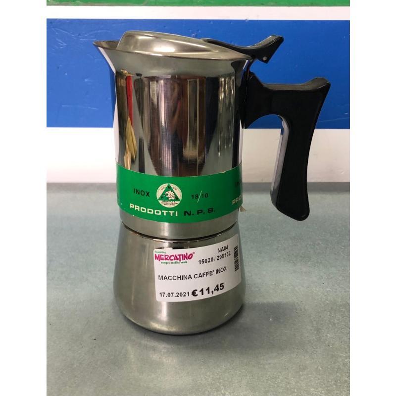 MACCHINA CAFFE' INOX | Mercatino dell'Usato Brusciano 1