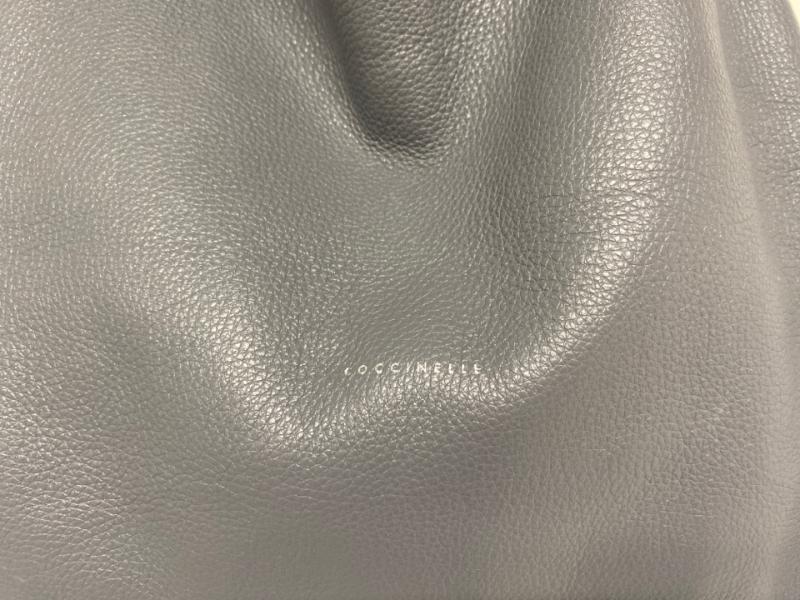 BORSA DONNA COCCINELLE BLU LAMINATA ARGENTO PELLE | Mercatino dell'Usato Acerra 2