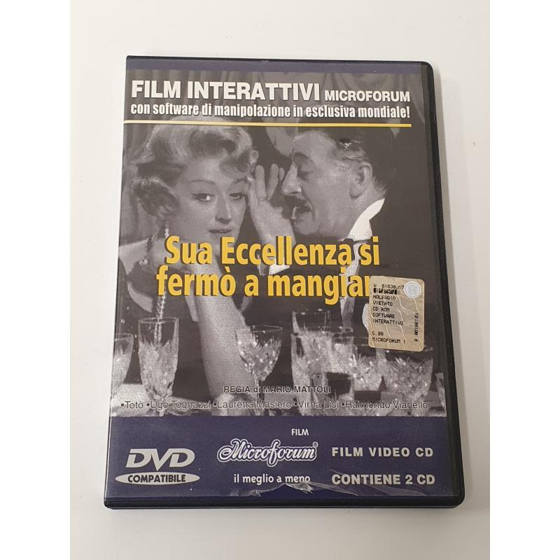 DVD SUA ECELLENZA SI FERMÒ A MANGIARE | Mercatino dell'Usato Acerra 1