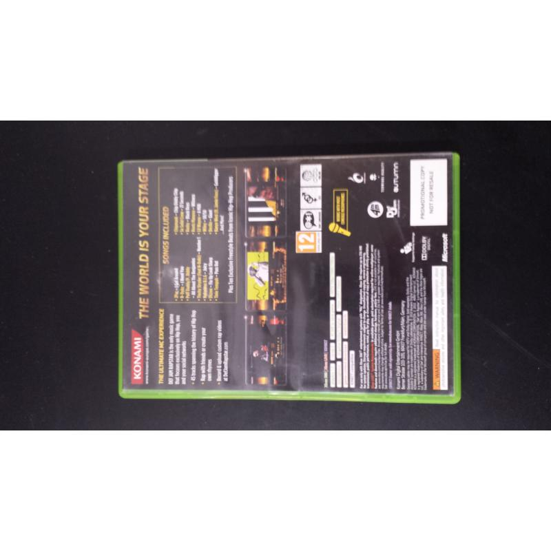 XBOX DEF JAM RAPSTAR | Mercatino dell'Usato Acerra 2