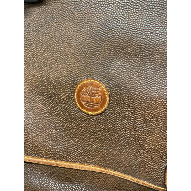 BORSONE TIMBERLAND MARRONE DOPPIA APERTURA FIBBIA | Mercatino dell'Usato Acerra 4