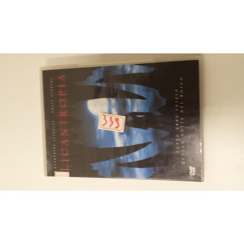 DVD LICANTROPIA   Mercatino dell'Usato Acerra 1