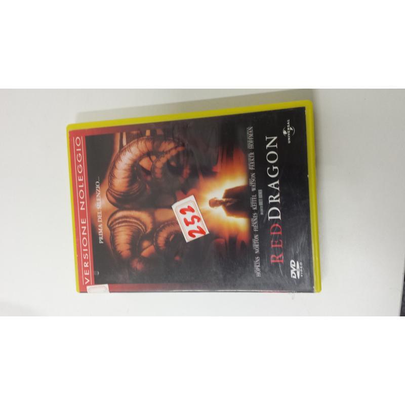 DVD RED DRAGON | Mercatino dell'Usato Acerra 1