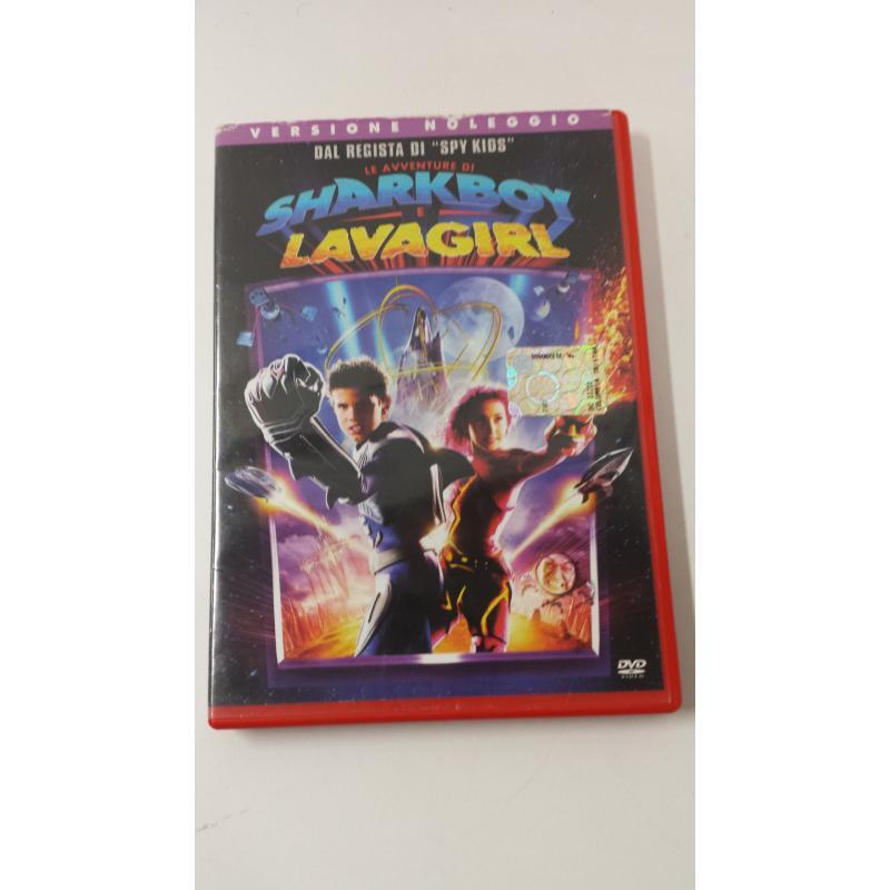 DVD SHARKBOY E LAVAGIRL | Mercatino dell'Usato Acerra 1