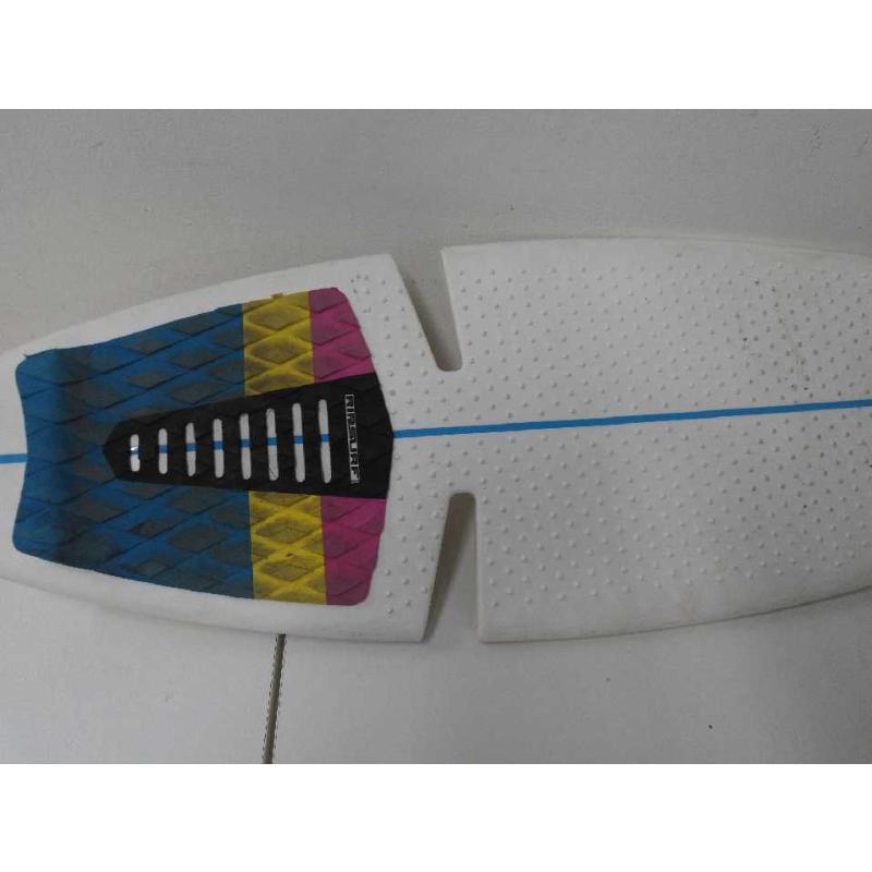 SKATEBOARD BIANCO RIGA BLU RIR SLIRF | Mercatino dell'Usato Acerra 2