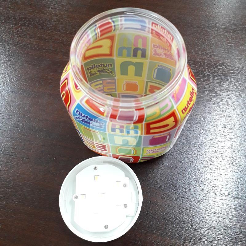 LAMPADA BARATTOLO DI NUTELLA LUCE A LED   Mercatino dell'Usato Ottaviano 3